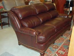 Craigslist Austin Leather Sofa by Hancock U0026 Moore 8138nb Austin High Back Sofa In Viking Cordovan