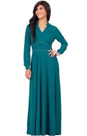 zeyna modest long sleeve temple gown maxi dress