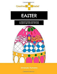 Put A Little Spring In Your Step With This Easter Coloring Book For Adults And Kids Skills