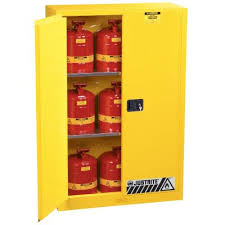 Flammable Liquid Storage Cabinet Grounding by Justrite Flammable Liquid Storage Cabinets Seton