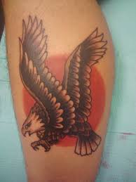 Sailor Jerry Eagle Tattoo Picture