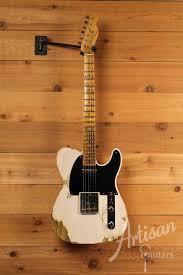 Fender Custom Shop 1952 Heavy Relic Telecaster White Blonde