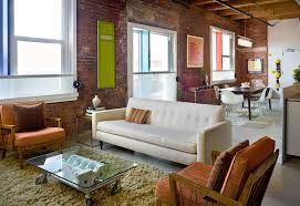 Steel Loft Contemporary Living Room