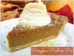 Pumpkin Pie With Pecan Praline Topping by Pumpkin Praline Pie Portlandia Pie Lady