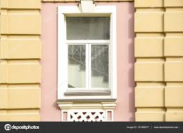 100 Decorated Wall Vintage Window With Decorated Wall Stock Photo Belchonock 147498377