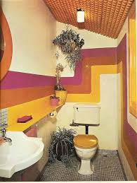 70er jahre badezimmer dekor alle dekoration retro