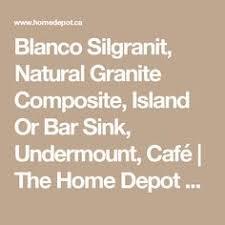 Home Depot Bar Sinks Canada by Blanco 400827 Precis Anthracite Undermount Silgranit Bar Sink