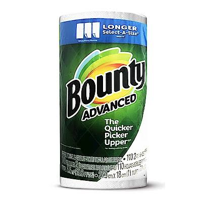 Bounty Advanced Select A-Size, 11 x 7.1 inch, White, 220 Pound