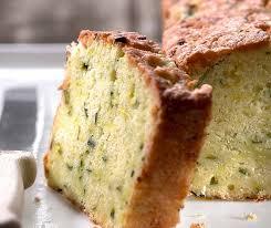 zucchini financier cake