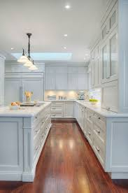 White Traditional Kitchen Design Ideas by Brighten Your Kitchen With Sparkling White Quartz Countertop