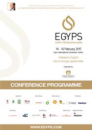 Dresser Rand Houston Closing by Egyps Conference Programee 31 1 2017 By The Egypt Petroleum Show