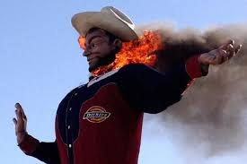 Giant Big Tex Statue Burns Down After 60 Years As State Fair Icon