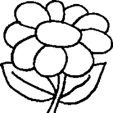 Spring Coloring Sheets On Flower Color Pages Sheet
