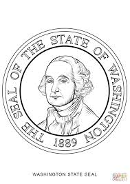 Click The Washington State Seal Coloring Pages To View Printable