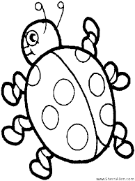Free Insect Coloring Pages From SherriAllen