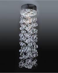 wakanda contemporary clear hollow glass balls suspended