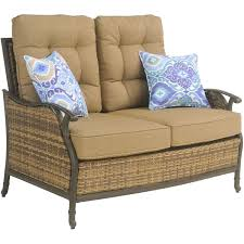 Amazon Patio Lounge Cushions by Amazon Com Hanover Hudson Square 4 Piece Outdoor Deep Seating