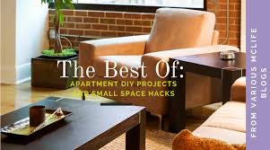 Over The Months Weve Written A Lot Of Blogs About DIY Apartment Projects And Small Space Hacks So We Decided To Create One Big Article All Pieces