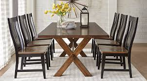 Twin Lakes Brown 5 Pc 72 In Rectangle Dining Room