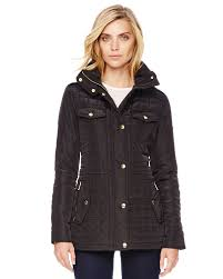 Lyst Michael michael kors Quilted Puffer Jacket in Black