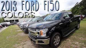 100 Ford Truck Colors Heres The Of The 2018 F150s Exterior Color Review