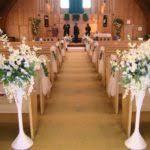 Church Wedding Decorations Blue