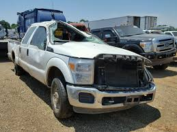 Salvage 2014 Ford F250 SUPER Truck For Sale