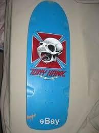 Powell Peralta Tony Hawk Skateboard Decks by Vintage 1983 Powell Peralta Tony Hawk Chicken Skull Skateboard Deck