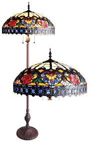 Tiffany Style Glass Torchiere Floor Lamp by Fabulous Tiffany Style Floor Lamps Tiffany Floor Lamps Victorian