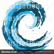 Tidal Wave Clip Art Medium size