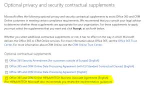 HIPAA regulated and Use fice365 Get your BAA from Microsoft