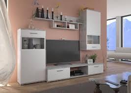 küchen preisbombe wohnwand top wohnwand blues anbauwand wohnkombi wohnzimmer weiss matt beton hell optik kaufen otto