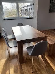 esszimmer tisch stühle mit bank und le