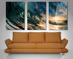 20 Collection Of Three Panel Wall Art