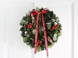 Which Christmas Tree Smells The Best Uk by 15 Best Real Wreaths The Independent