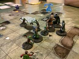 I Learned My Lesson Paint The Figures Before Playing Game Picked Up Dungeons Dragons Wrath Of Ashardalon Which Is From Same Series As Legend