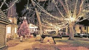 St Augustine Night of Lights Trolley Tour & Dinner