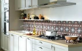 peinture credence cuisine carrelage credence stickers carrelage mural cuisine finest carrelage