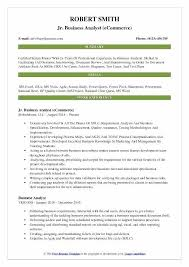 Sharepoint Business Analyst Resume Jr Sample