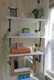 Diy Industrial Shelves Dining Room Ideas Shelving