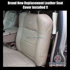 2001-2002 Ford F-150 Lariat Super-Crew Leather Seat Covers: Driver ... Ford Racing M63840ms Mustang Rear Seat Installation Kit 52018 Bench Truck Foam Replacementtruck For Sale 196772 Chevy Gmc 3 Point Belts Gm Latch 2006 Dodge Ram Leather Interior Swap 1999 F150 Lightning Project Stealth Fighter Part 5 Lets See Those Seat Swaps Enthusiasts Forums F250 Replacement Leather Bucket Seats Google Search Old School 22003 Ranger 6040 Split With Opening Center Console 1989 Ford Ranger Truck Factory Replacement Seat Covers 831992 Ebay Jump Lid Replacement