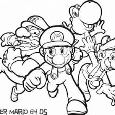 Coloring Pages Of Mario Davidedgell