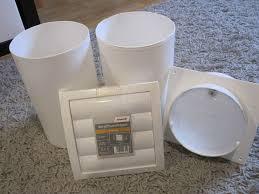 lüftungssystem dunstabzug küche badezimmer set 150 mm weiß neu