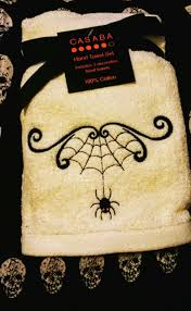 Decorative Hand Towel Sets by Daughter Of The Jaded Era Surprise Halloween Present From Fellow