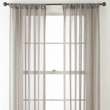 Jc Penney Curtains Martha Stewart by Marthawindow Airy Rod Pocket Sheer Panel Zen Gray Jcpenney