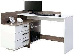 bureau d angle avec ag es conforama bureau chambre bureau 1 porte 1 tiroir osiris coloris