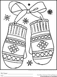 Free Holiday Coloring Pages And Printable