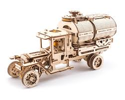 100 Toy Tanker Trucks UGears Mechanical Truck Wooden 3D Model UTG0020 S