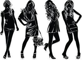 Fashion Women Clipart Image 28105