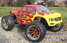 100 Gas Rc Monster Trucks New HSP 1 10 Car 4WD RTR RC Nitro Truck On PopScreen